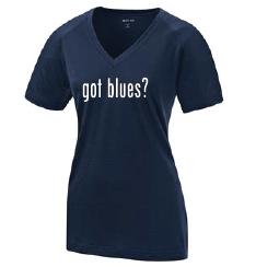 """Women's Shirt: """"Got Blues?"""""""